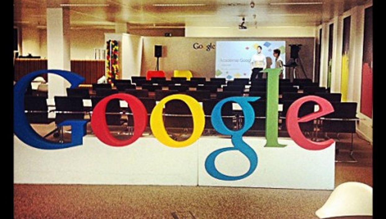 Google's offices in Brussels