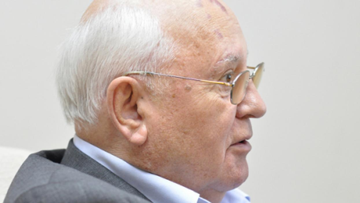 Gorbachev will be 81 next month (Veni Markovski)