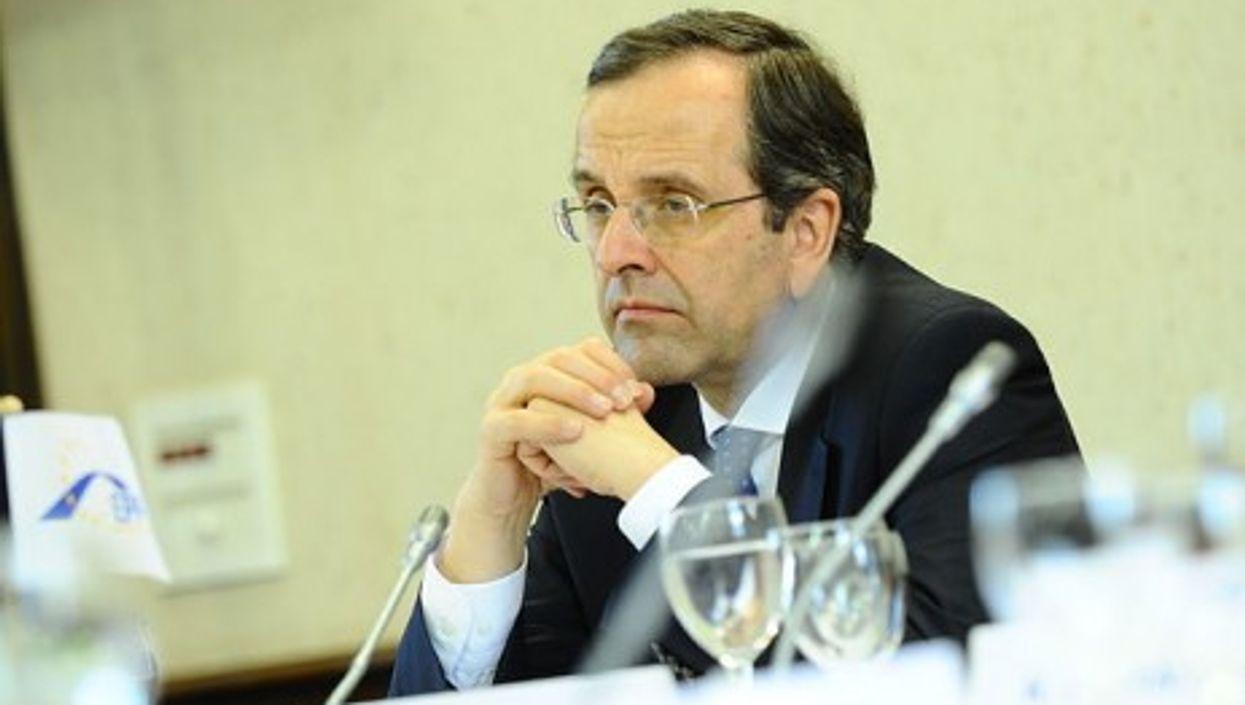 Greek PM Antonis Samaras