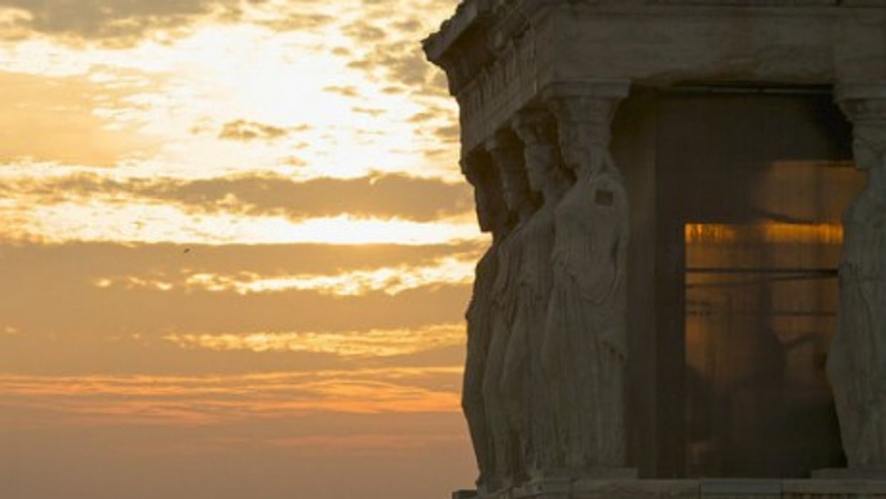 Greek treasures of the past. And the future?