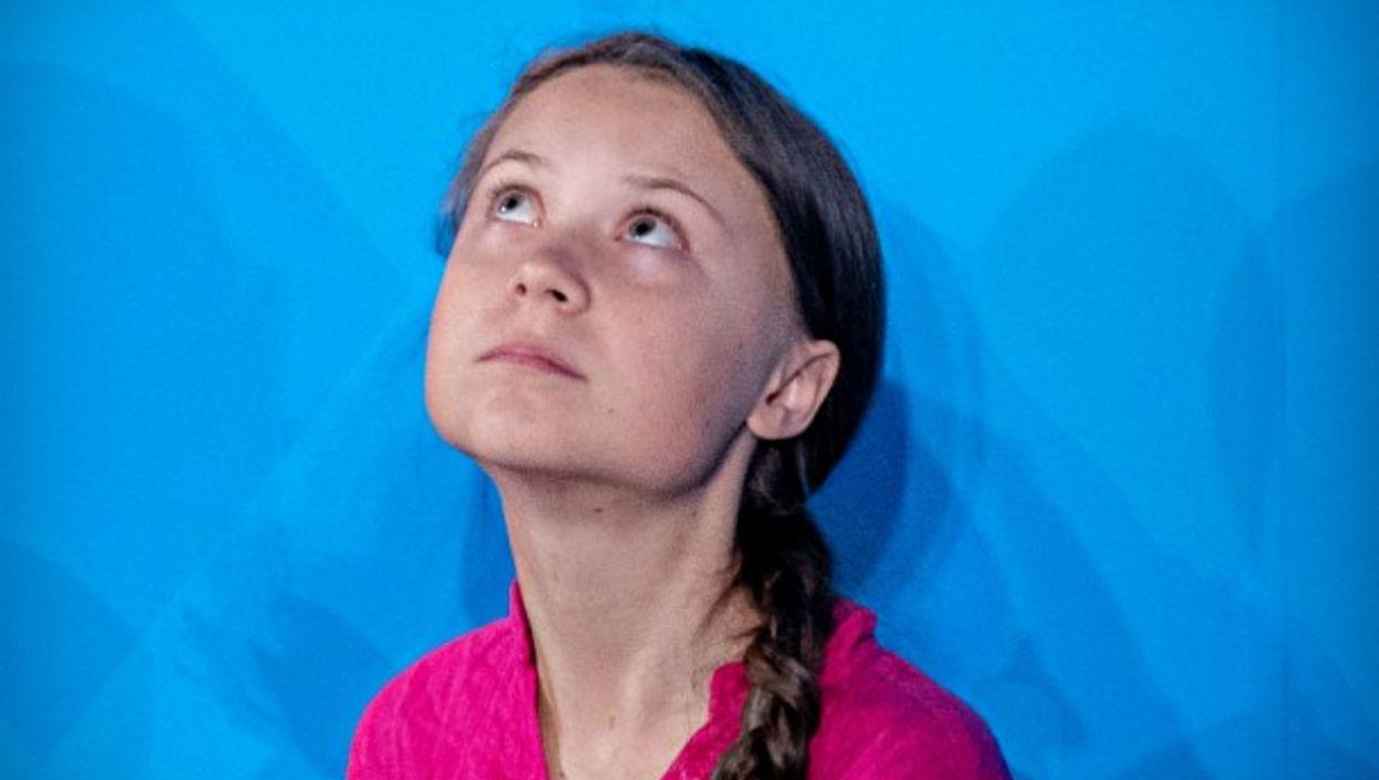 Greta Thunberg in New York on Sept. 23
