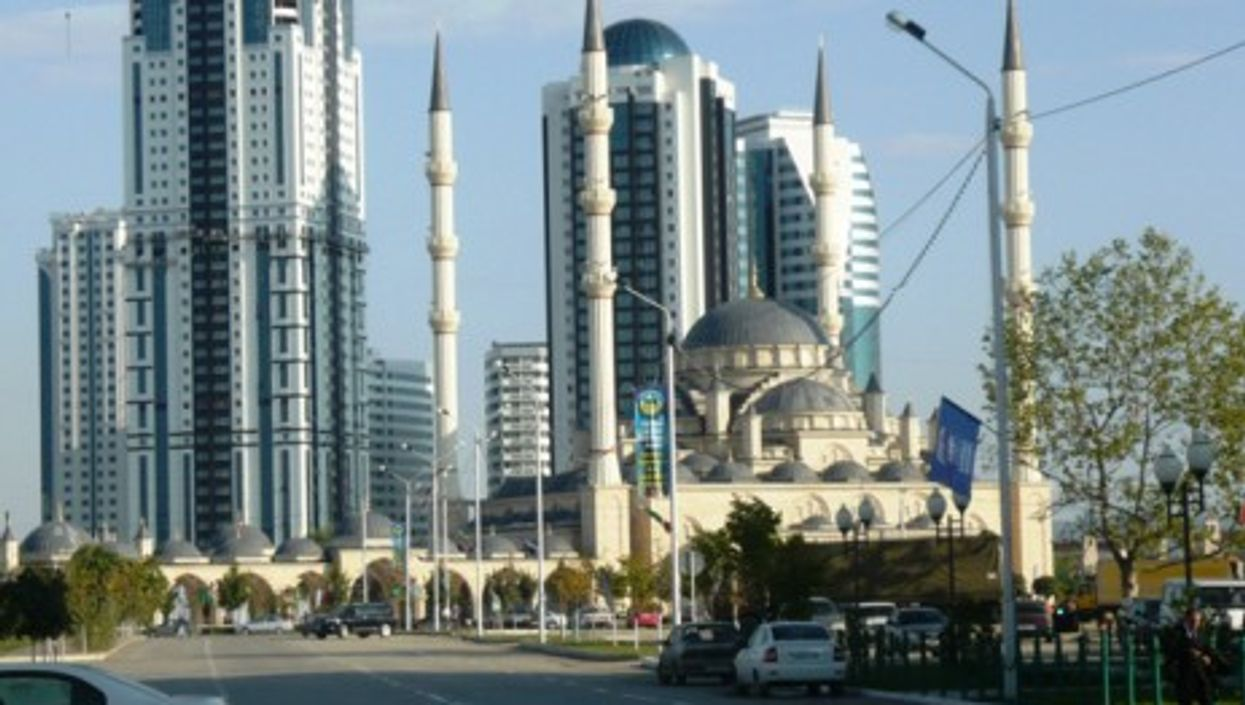 Grozny-City and the Grozny Mosque