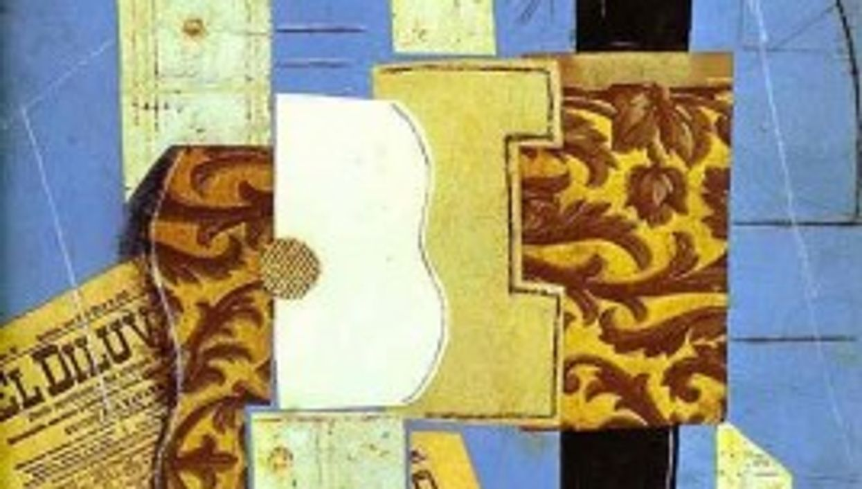 Guitars feature in many of Pablo Picasso's cubist works