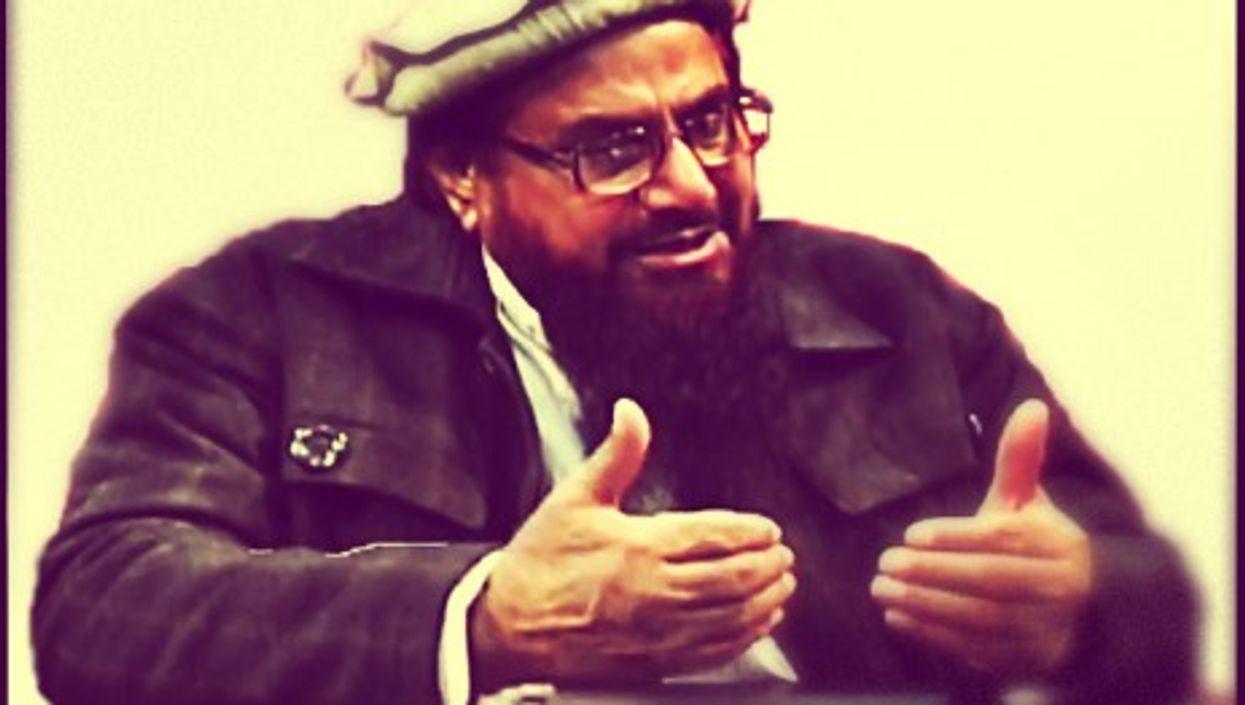 Hafiz Muhammad Saeed, founder of the terrorist group Lashkar-e-Taiba