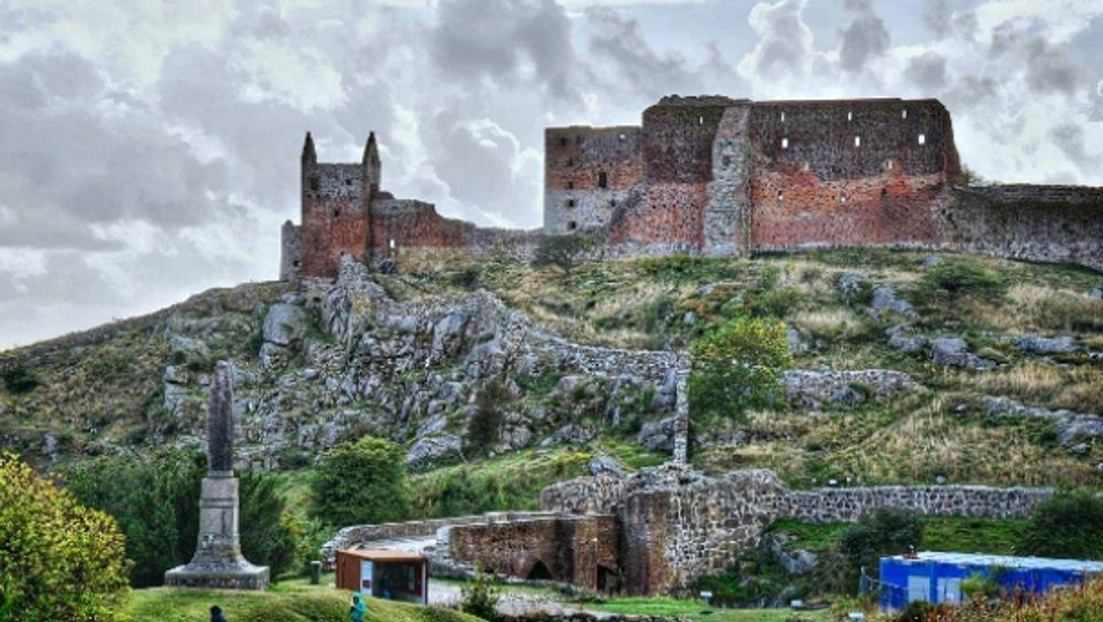 Hammershus fortress on Bornholm