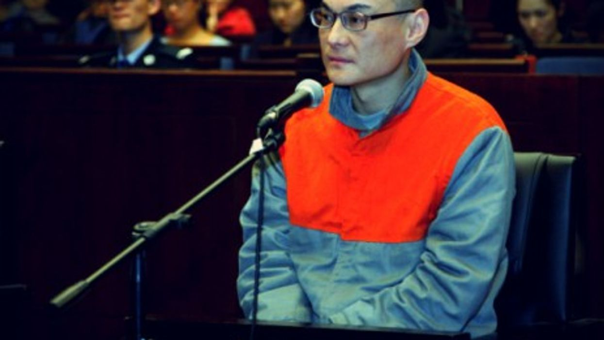 Han Lei, shown in Beijing court in 2013, was executed last month for killing a toddler during a row with her mother over a parking space.