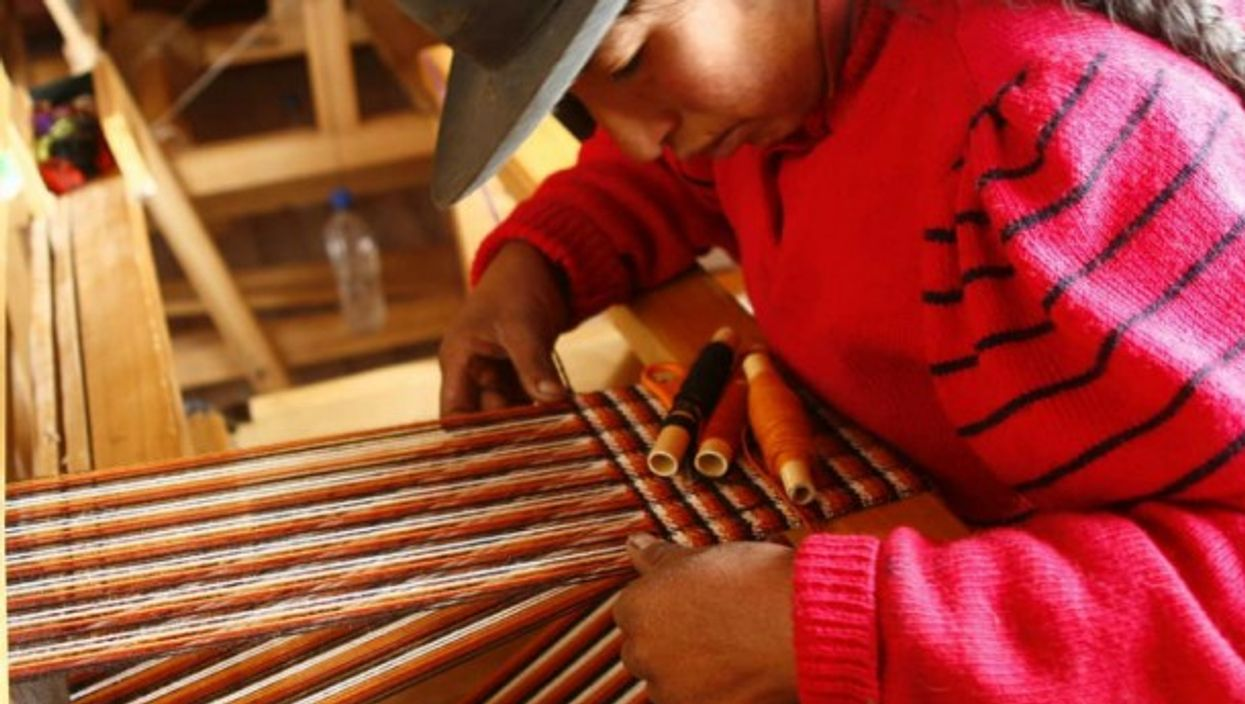 Hand weaving is getting a second wind in Argentina