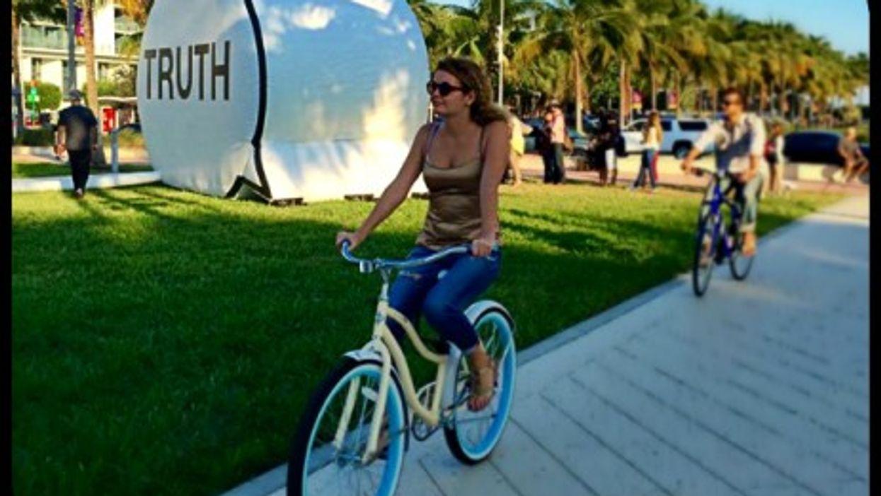 "Hank Willis Thomas, Ryan Alexiev and Jim Ricks' ""Truth Booth"" at Art Basel Miami Beach"