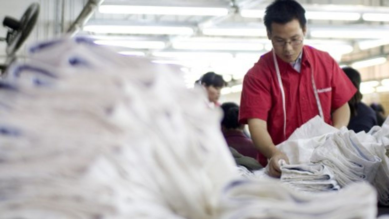 Hard times have befallen China's once booming clothing industry