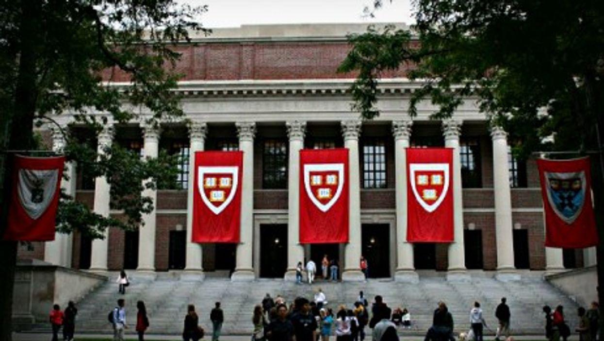Harvard University's Widener Library