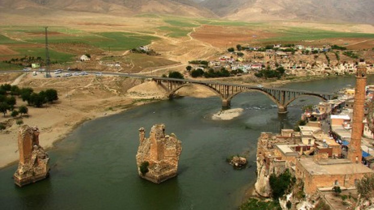 Hasankyef and River Dide in the Batman Region
