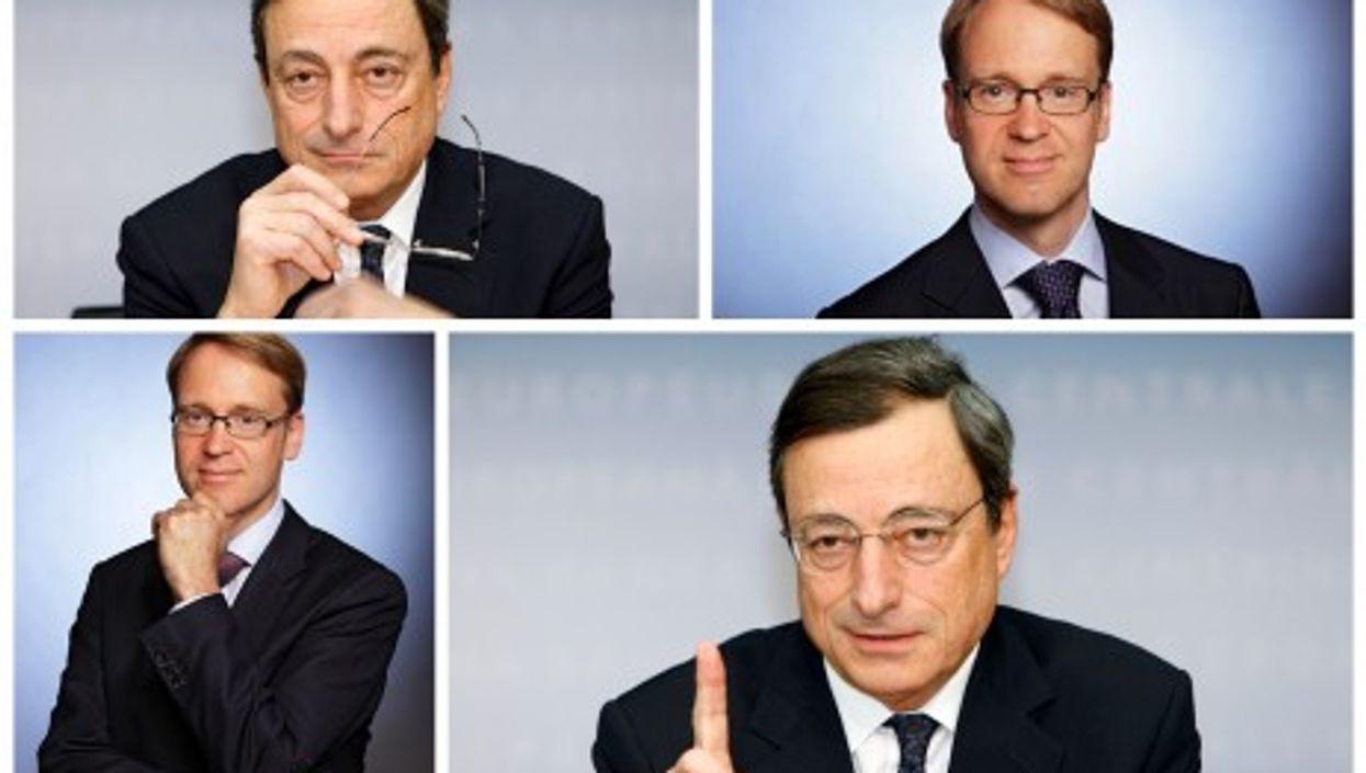 Head to head: Draghi and Weidmann