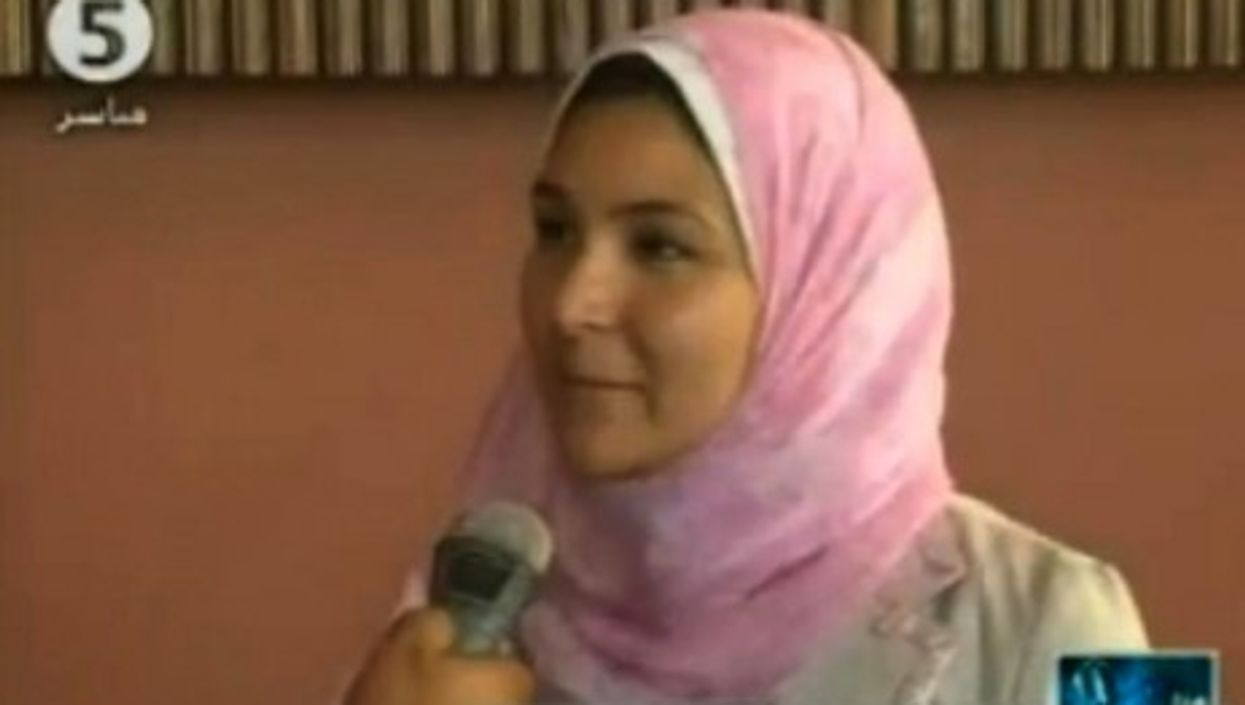 Headscarves appear frequently on Egypt's Channel 5, just not on the heads of presenters