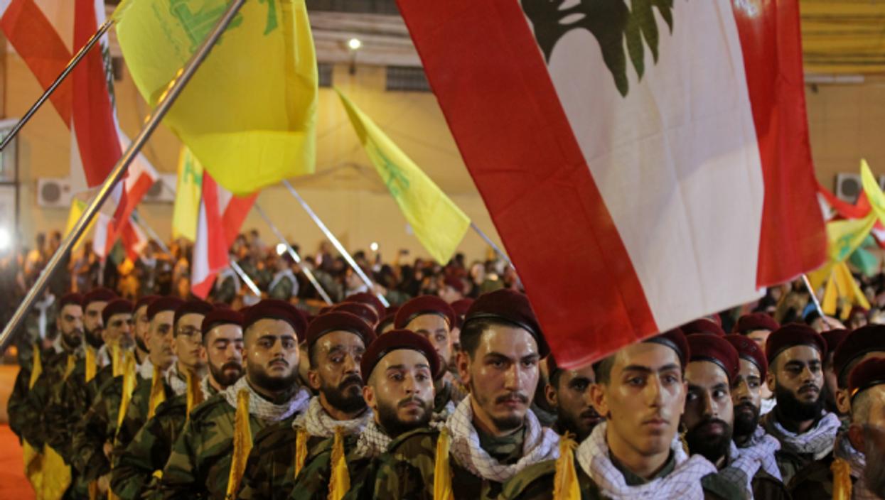 Hezbollah parade in Beirut, Lebanon, on May 31
