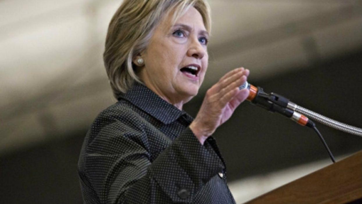 Hillary Clinton stumbled at Saturday's debate
