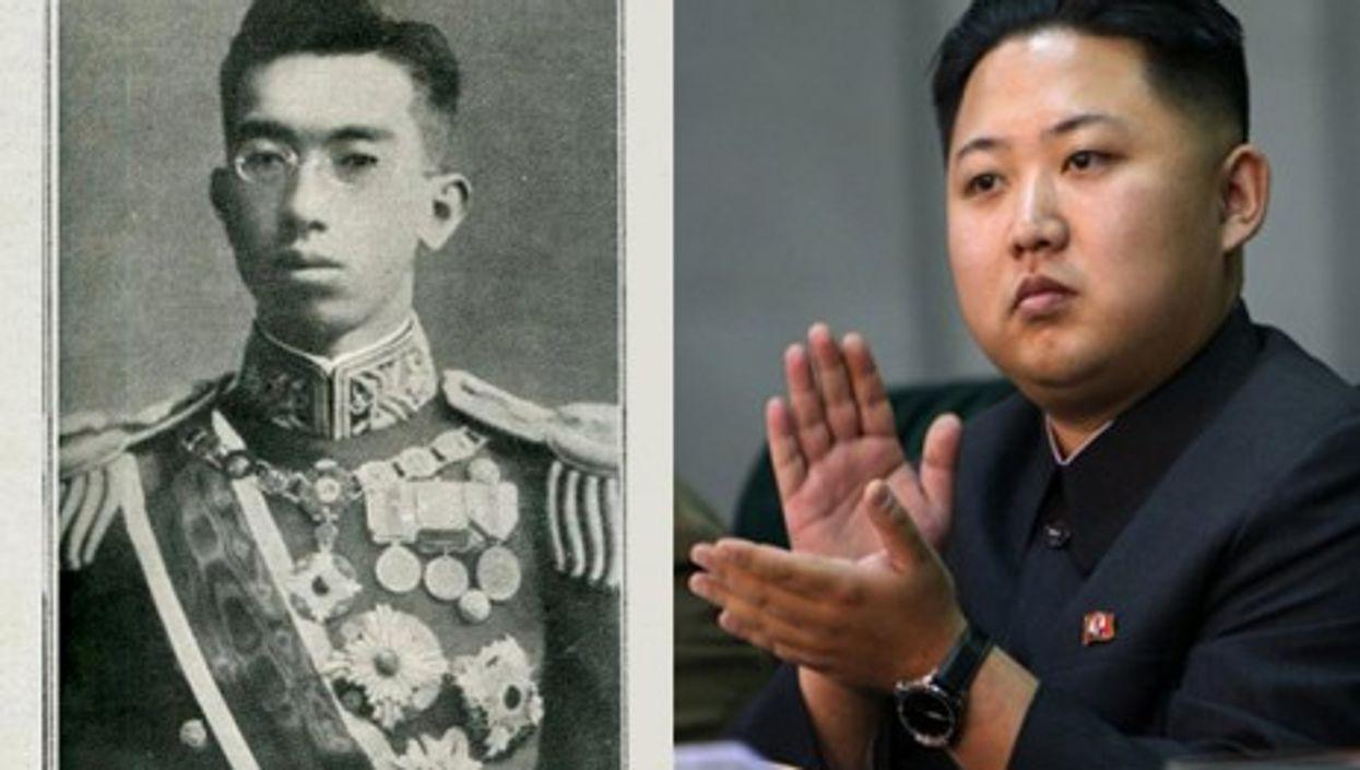 Hirohito (left) was 25 when he became emperor. Kim Jong-Un is 28.