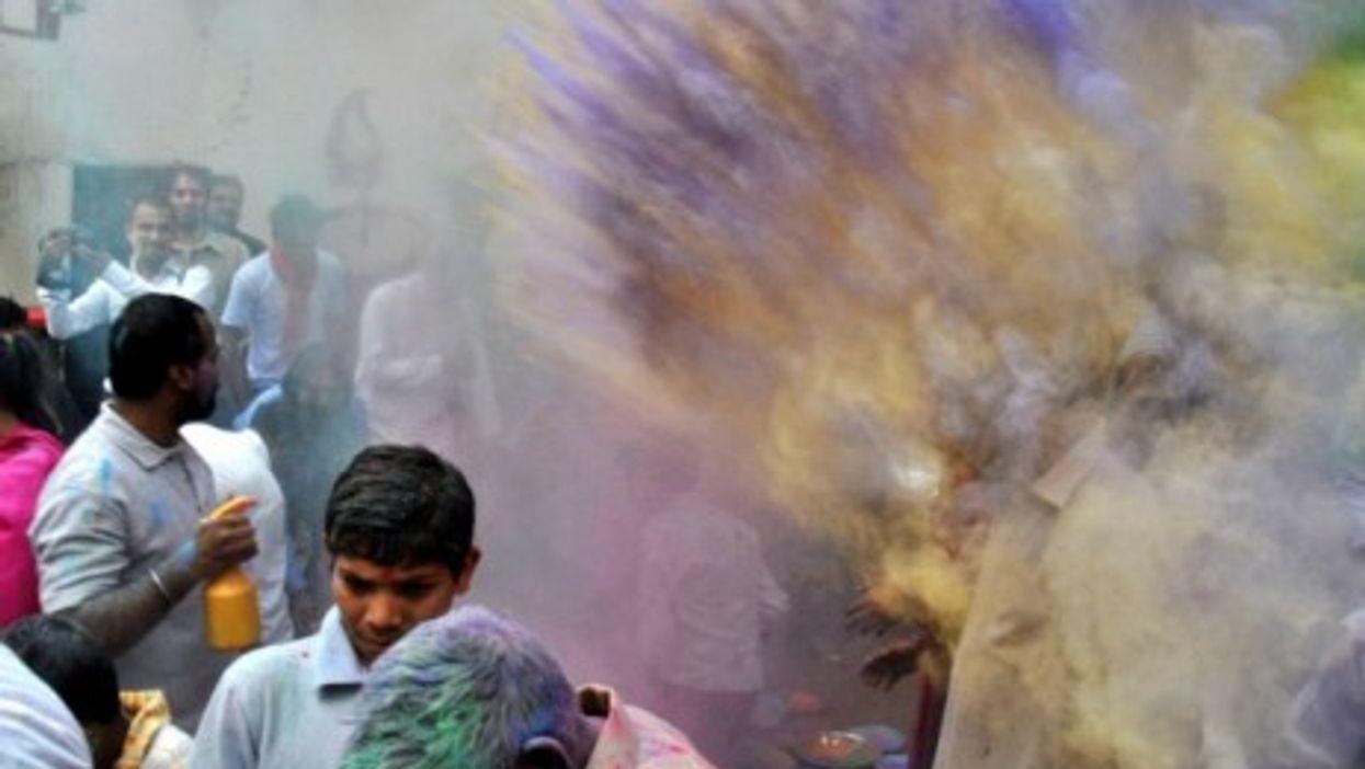 Holi celebration in Lahore, Pakistan