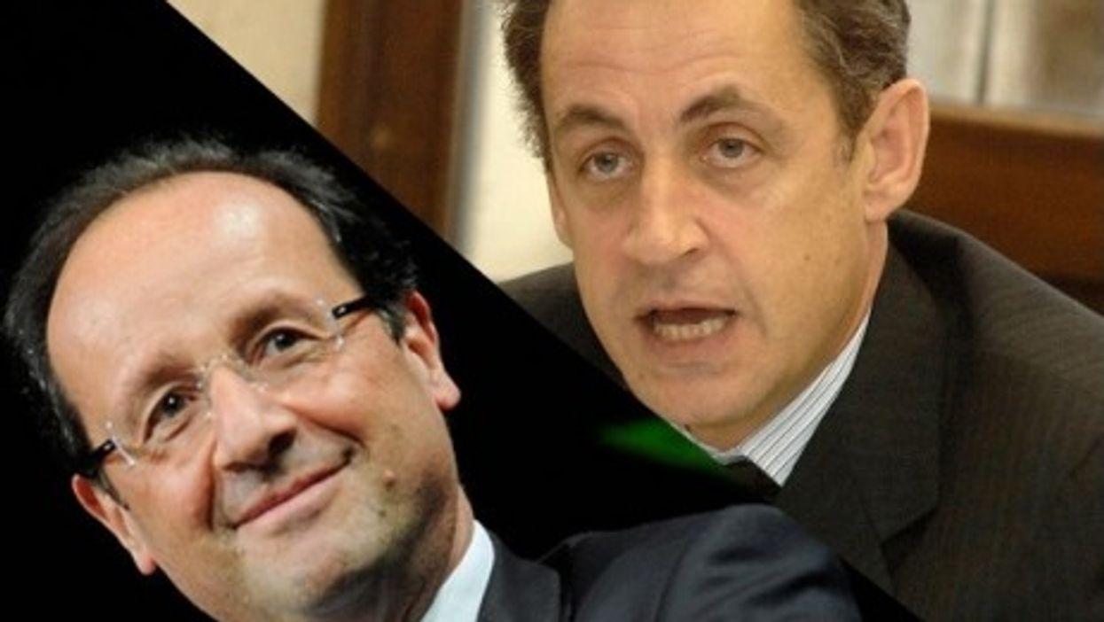 Hollande and Sarkozy (Jean-Marc Ayrault, EPP)