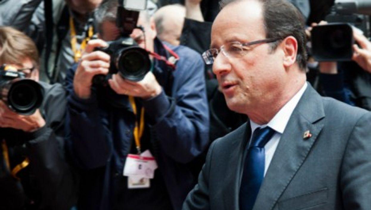 Hollande in June 2013