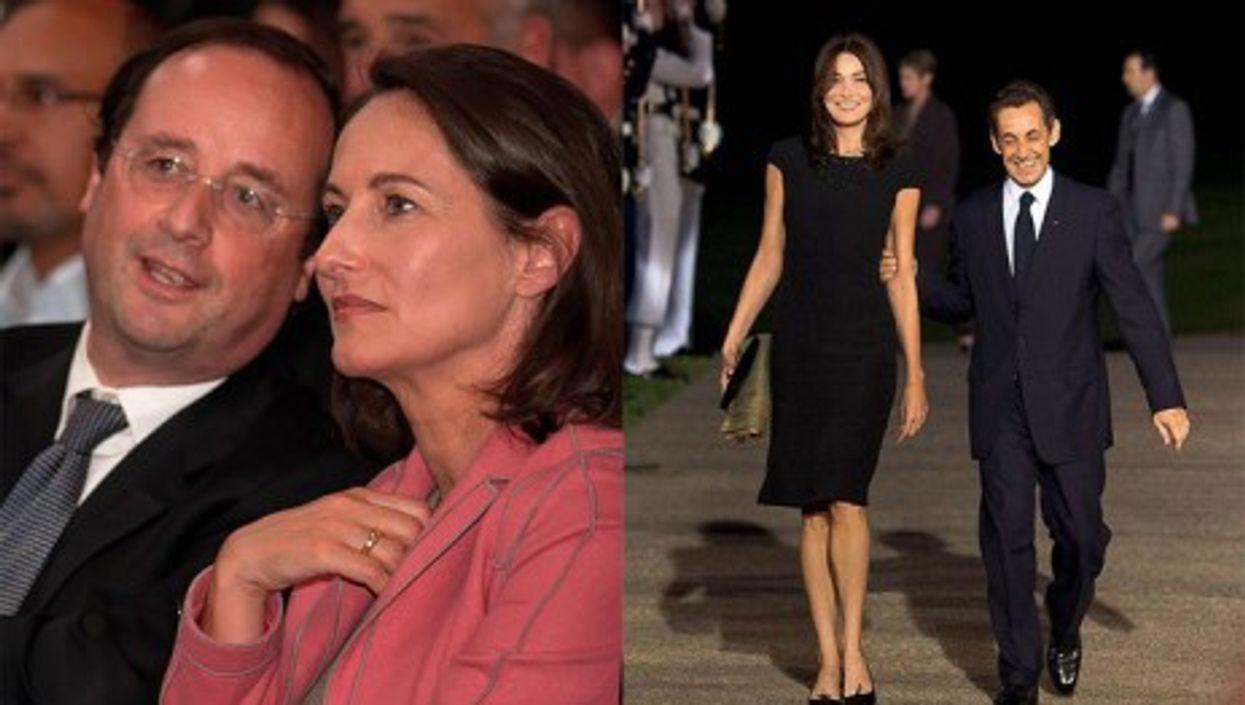 Hollande/Royal (2007), Bruni/Sarkozy (2009)