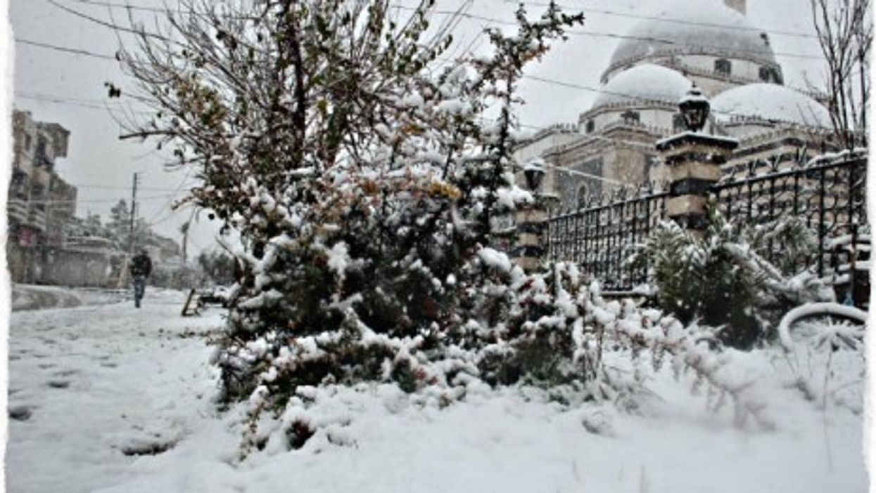 Homs is known for its harsh winters