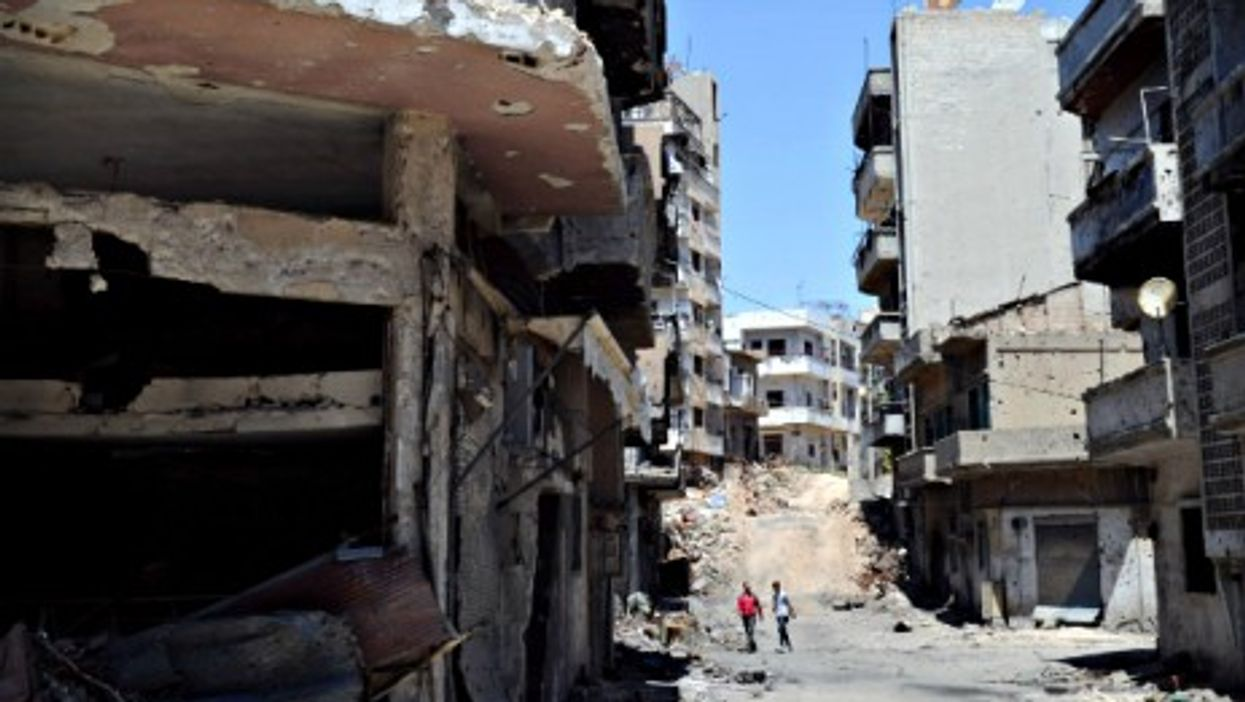 Homs on May 15.