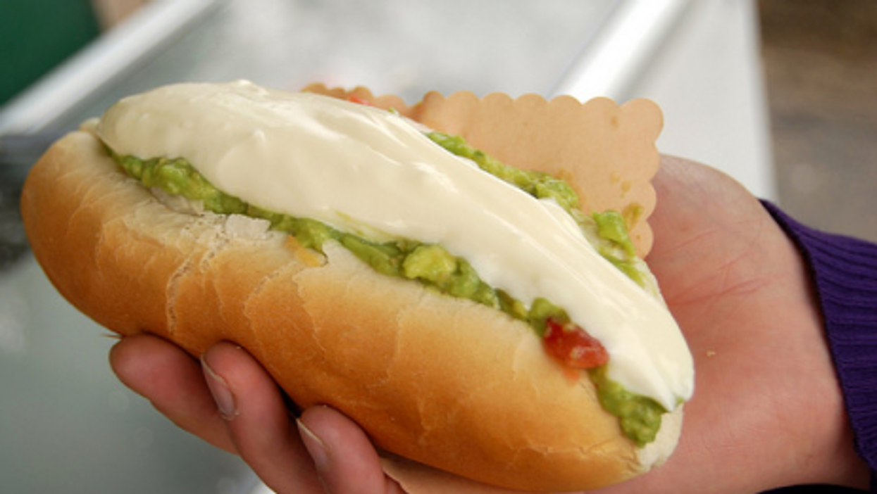 Hot Dog, South American-style (Paul Lowry)