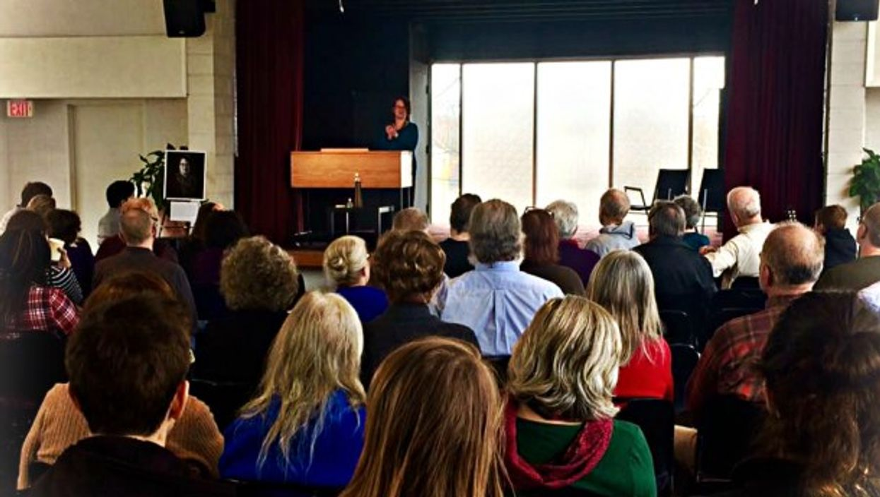 Humanist clergy meeting at the Washington Ethical Society