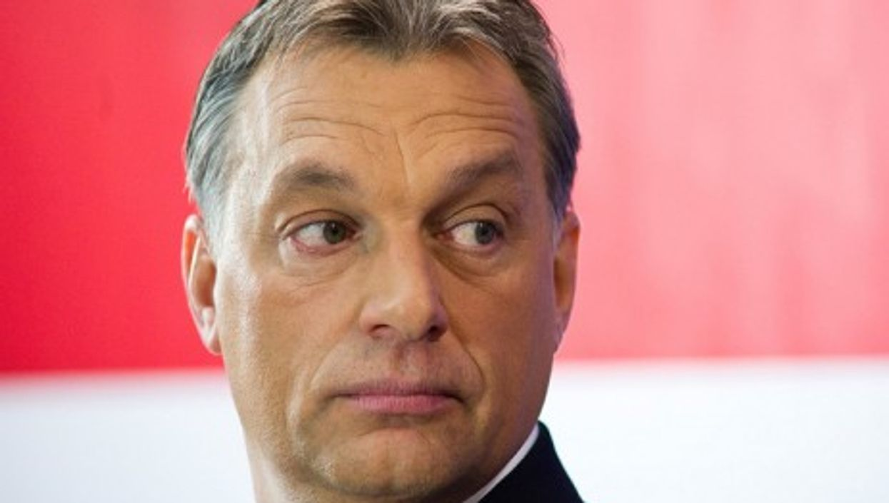 Hungarian Prime Minister Viktor Orban (Europa Pont)