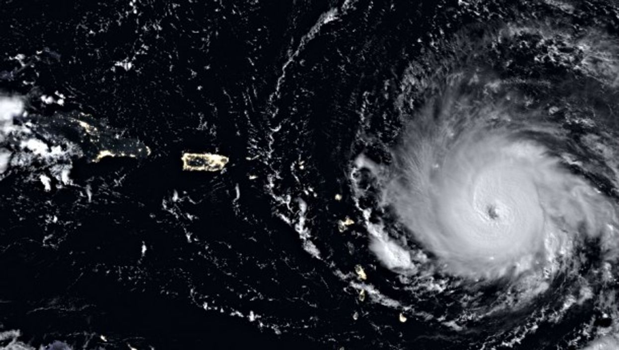 Hurricane Irma on Sept. 6