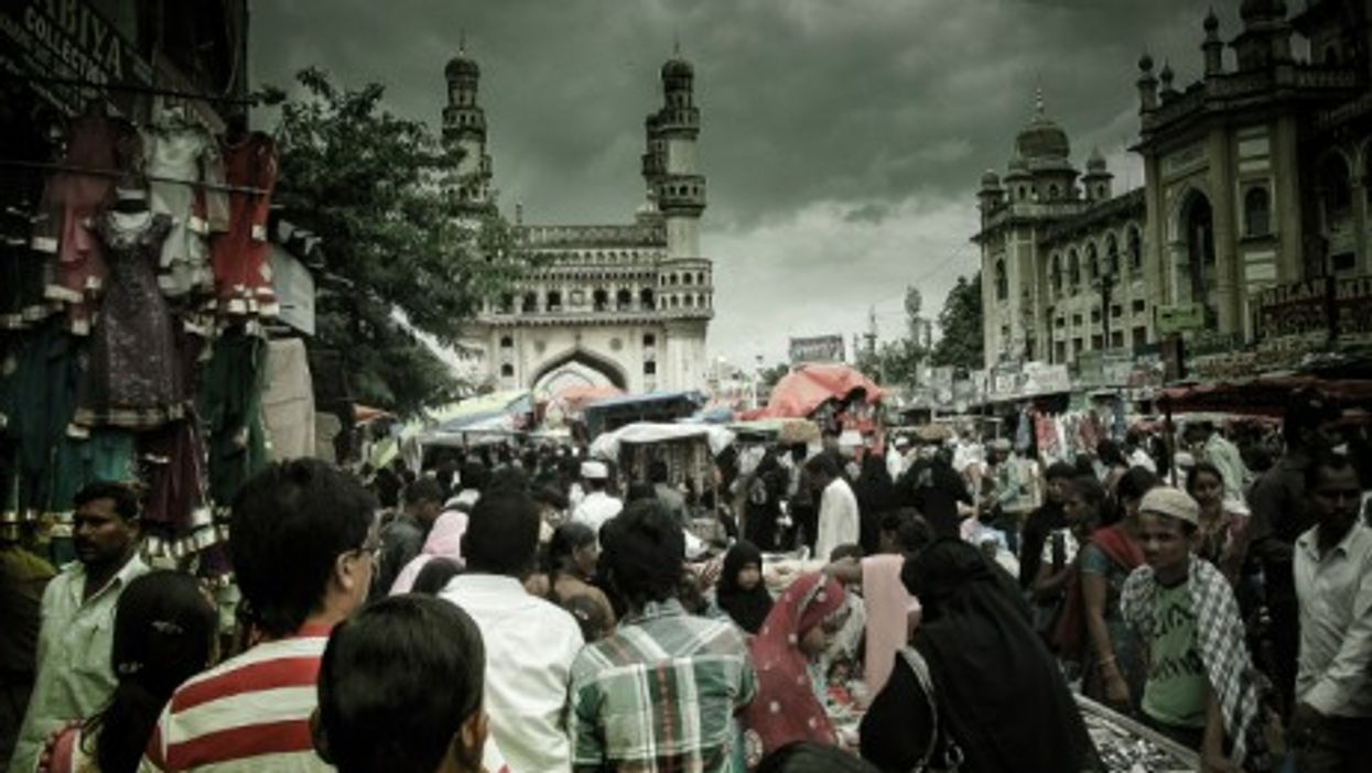 Hyderabad, in the southern Indian state of Andhra Pradesh