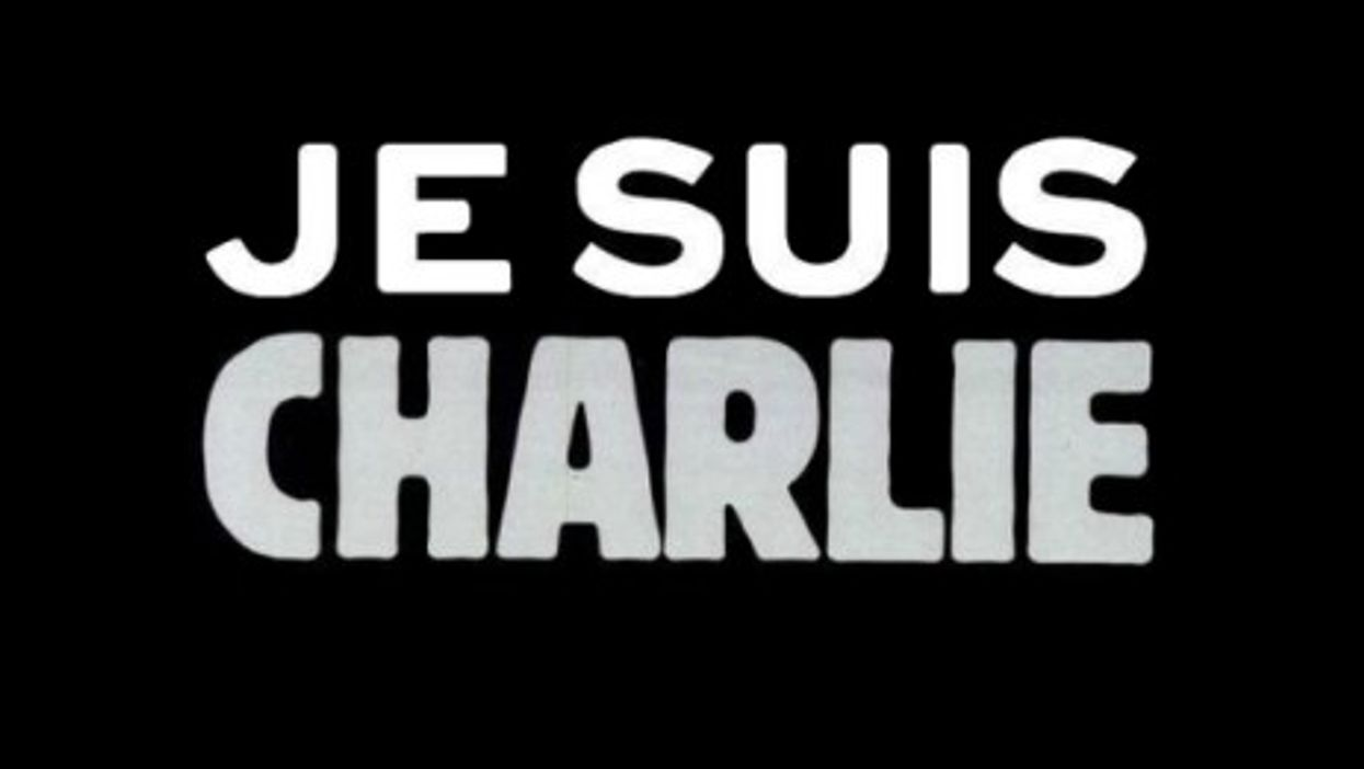 """""""I am Charlie"""" image used on social media in support of the victims of the Paris attack."""