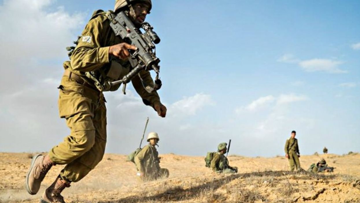 IDF soldiers training