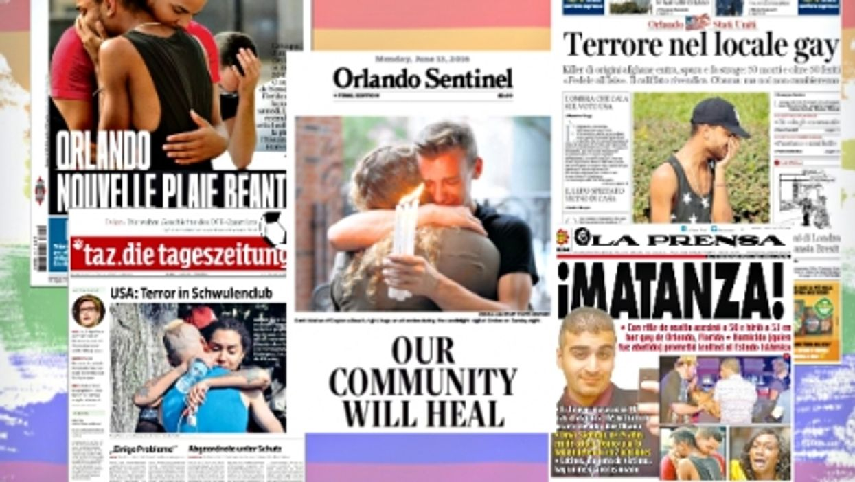 Orlando Shooting, 16 Front Pages From Newspapers Around The World