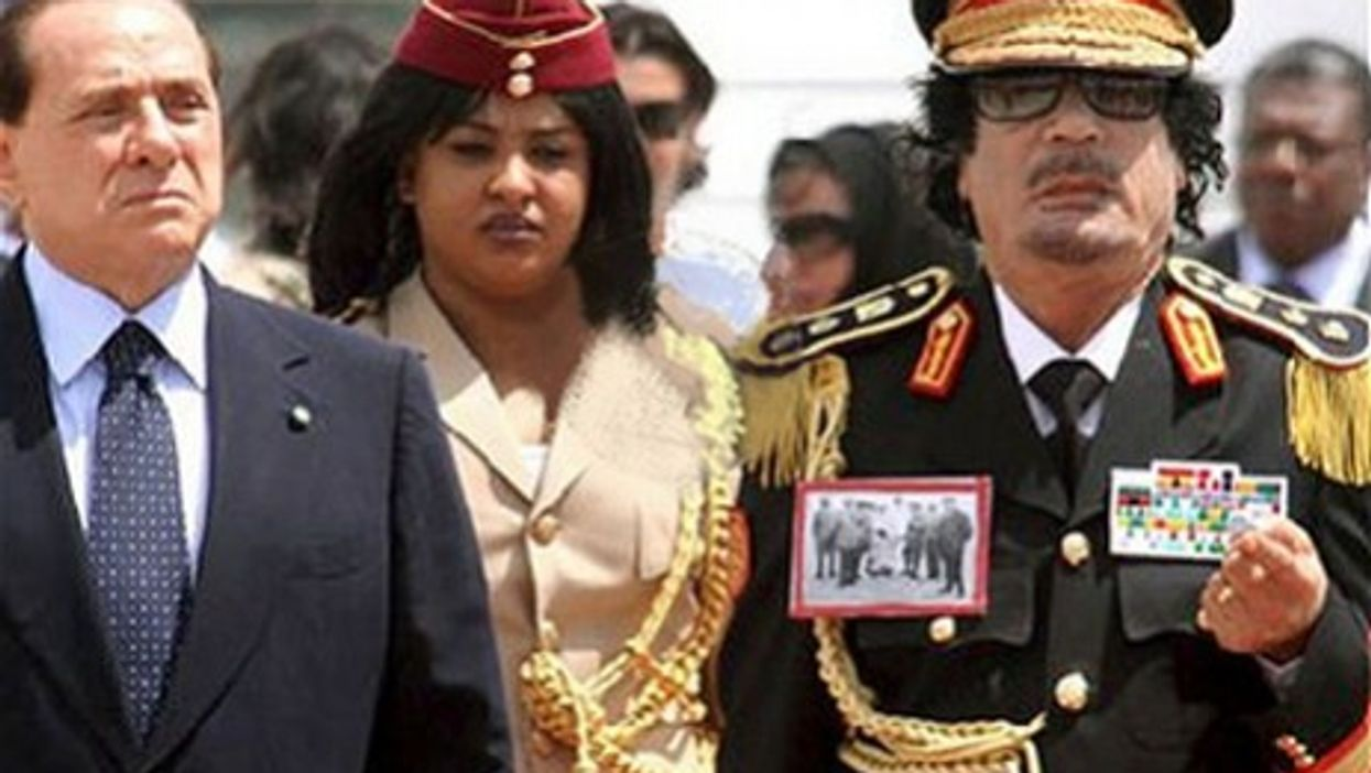Libya And Italy: Colonial Past, Future Business At Stake With Gaddafi's Regime On The Brink