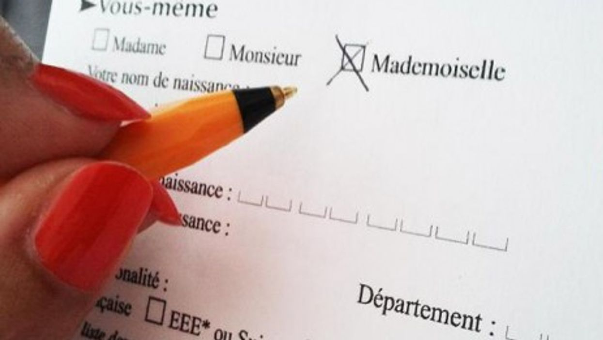 French Feminists Want To Ban The Word 'Mademoiselle'