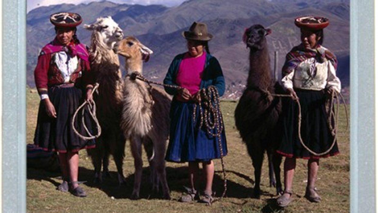 A Peruvian Painting