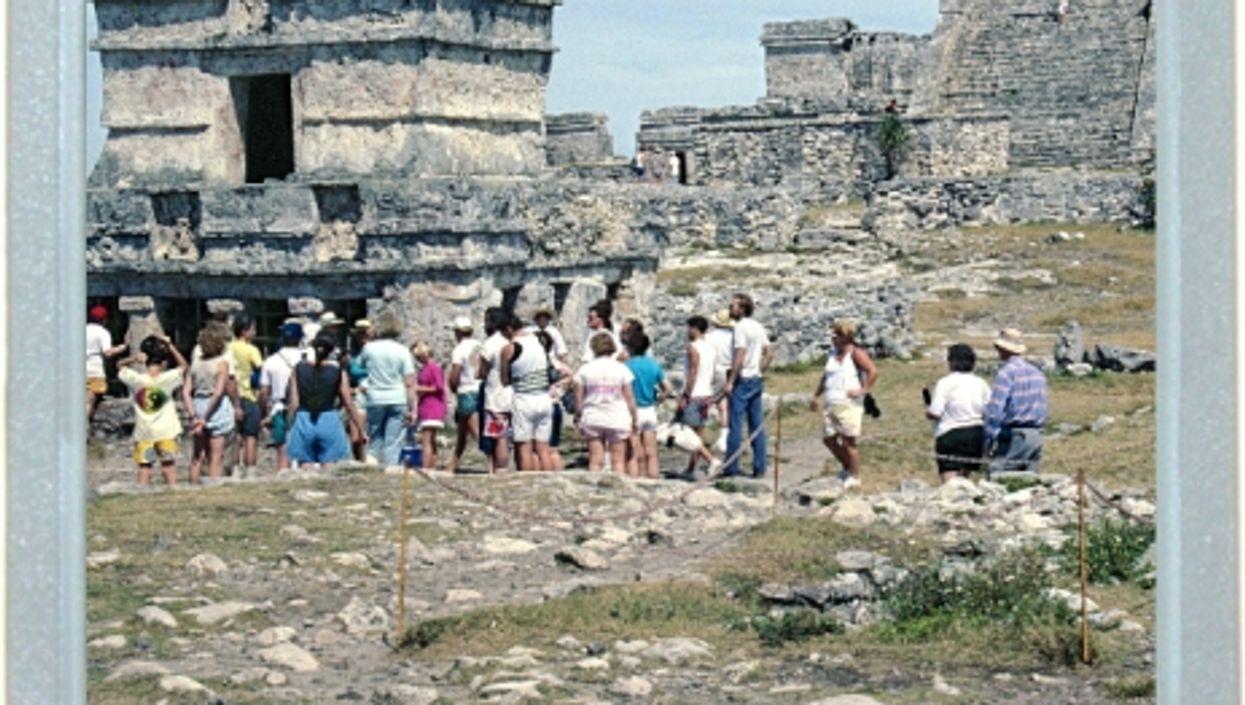 A Mayan Line