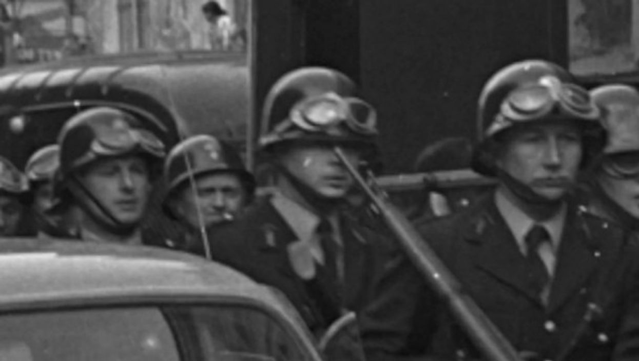 Watch: OneShot, May '68 — The Police