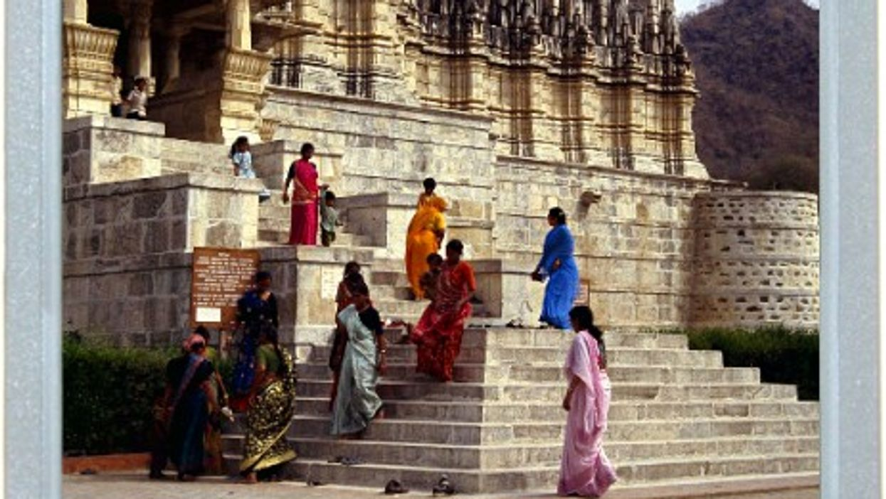 Stairs And Saris