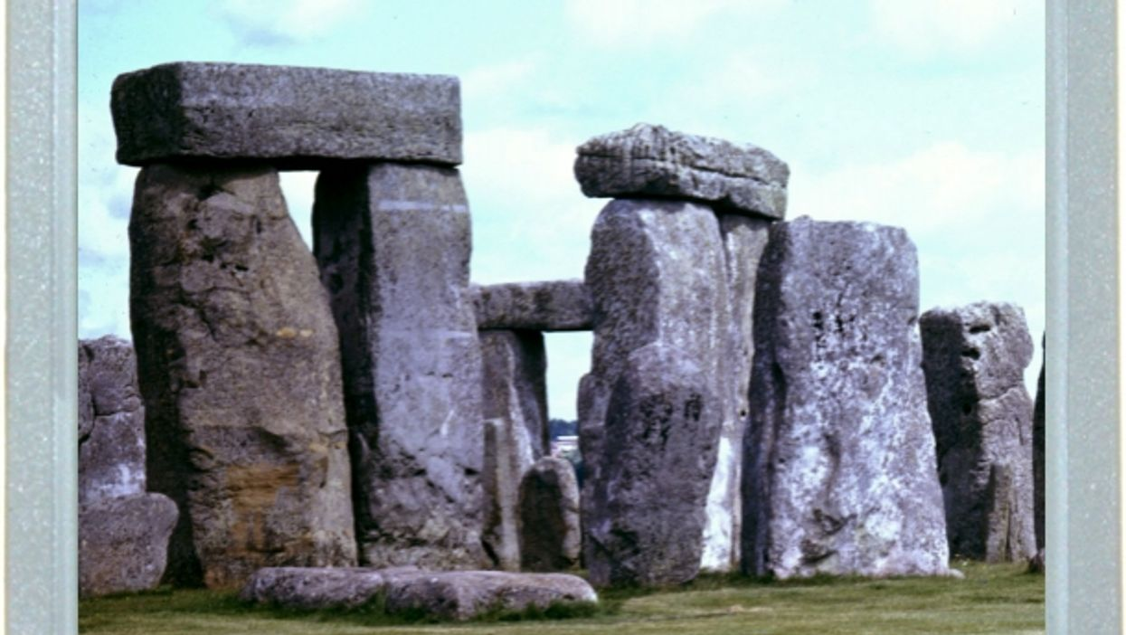 Touch Stonehenge