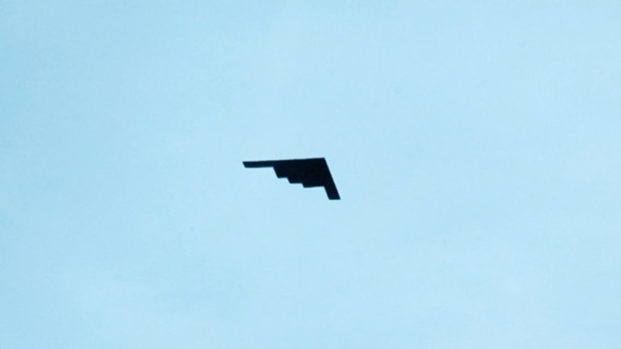 Watch: OneShot —Stealth Bomber Above The Beach