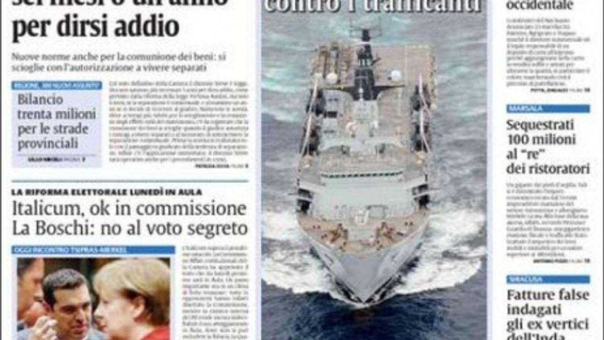 Extra! EU Summit On Mediterranean Migrants