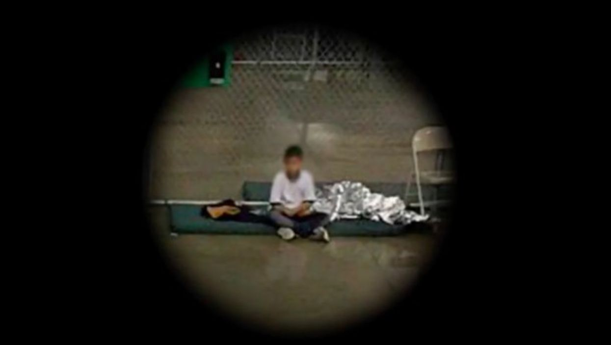Watch OneShot:Immigrant Children Torn From Parents, A Sight And Sounds
