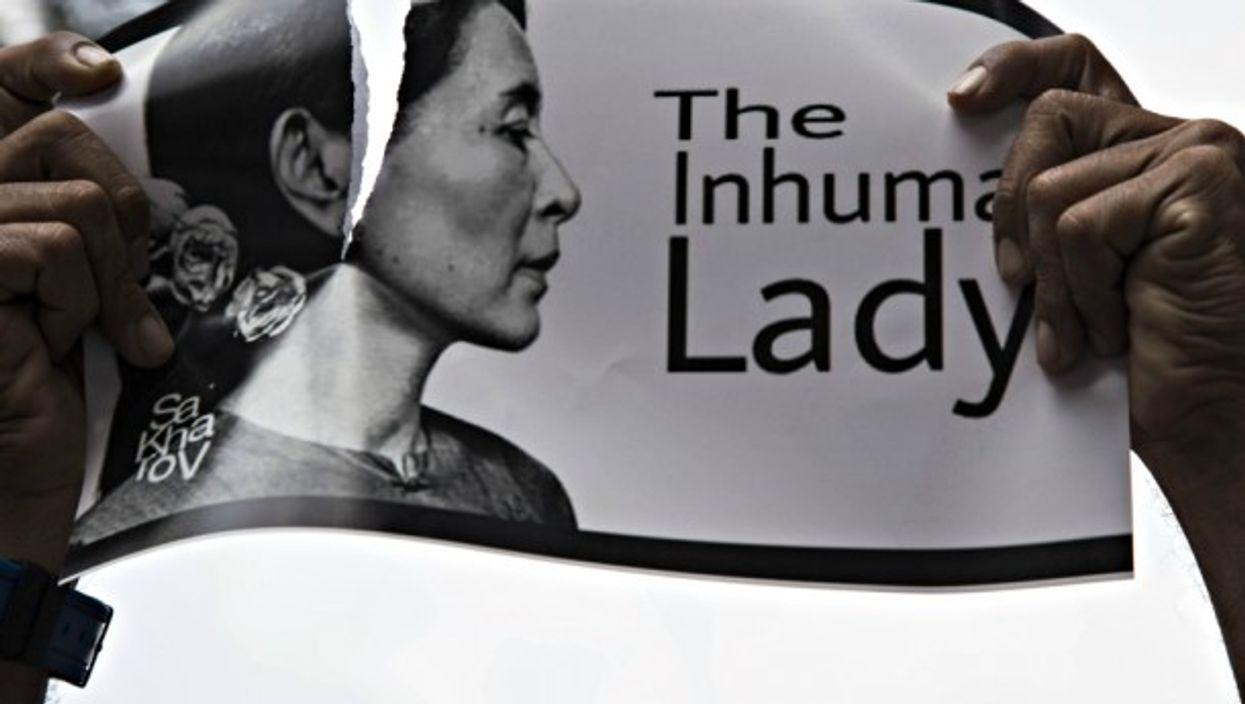 France's Libération: 'Aung San Suu Kyi: A Nobel And A Massacre'