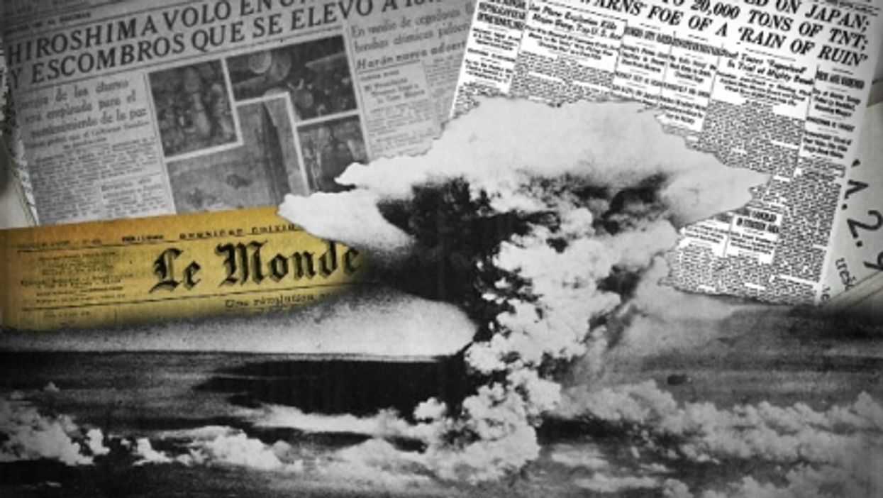 Hiroshima 70 Years Ago, How Newspapers Covered It