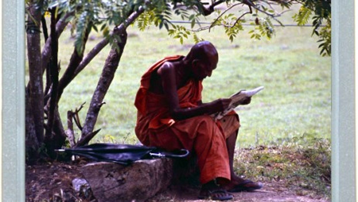 A Monk's Peace Of Mind