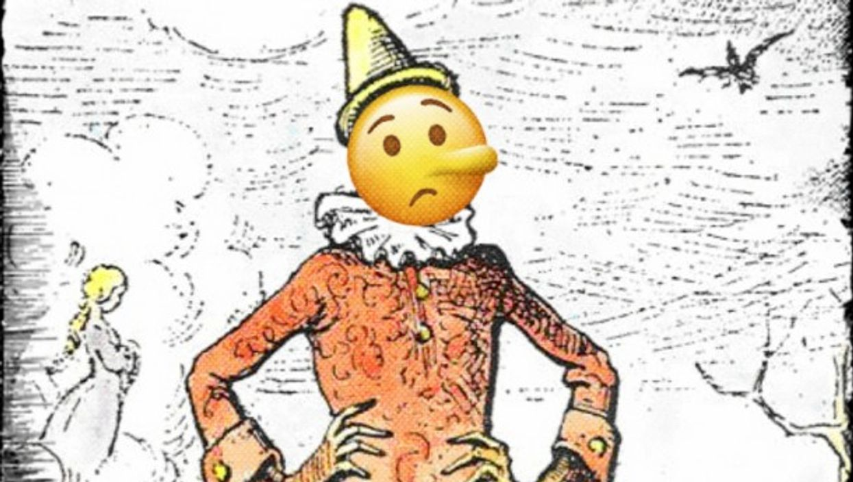 Italian Revisited, Pinocchio Translated IntoEmoji Language