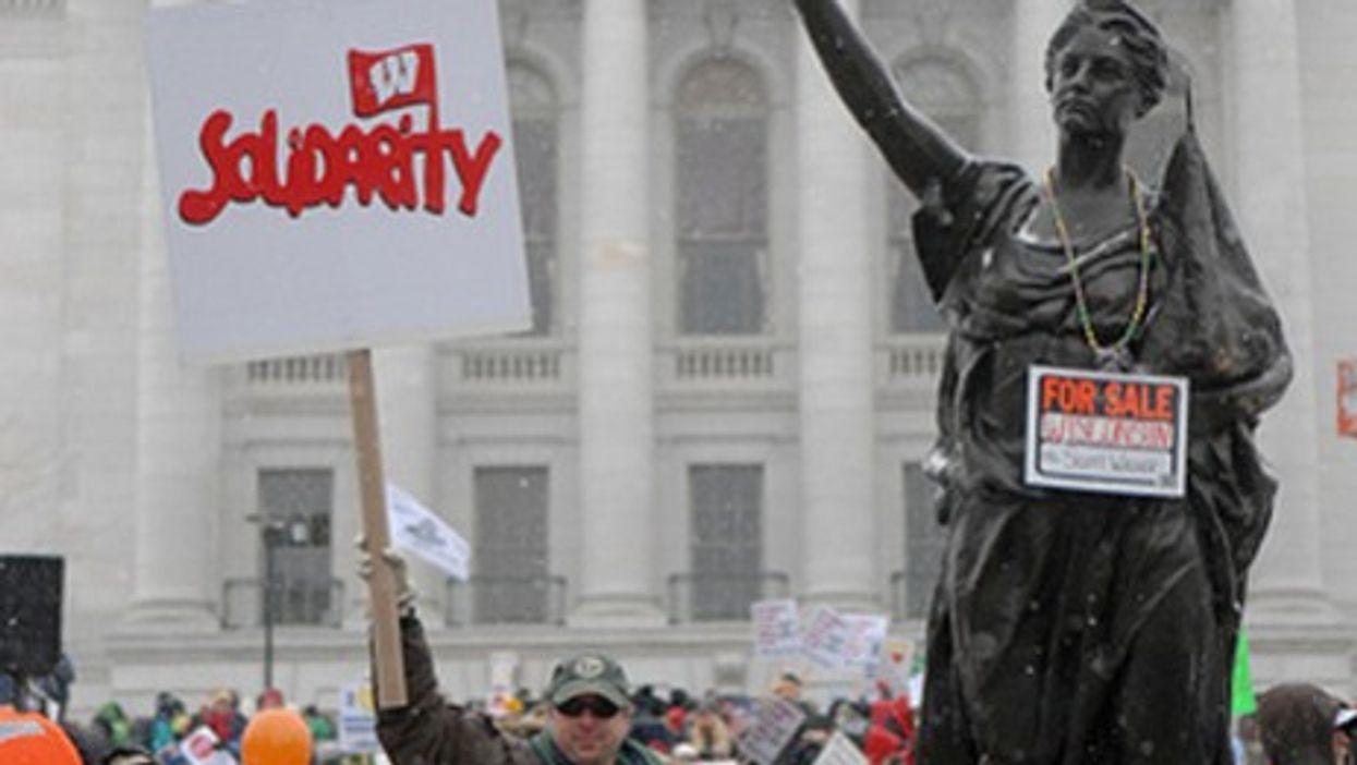 Wisconsin Syndicat: A French Take On The U.S. Labor Showdown