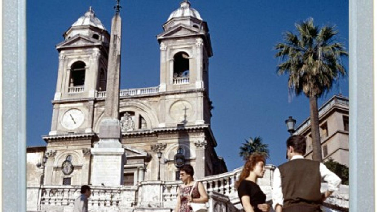 Spanish Steps To French Church